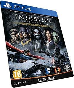 Injustice: Gods Among Us Ultimate Edition PS4 PSN MÍDIA DIGITAL