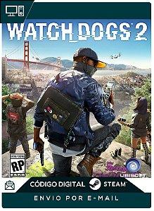 Watch Dogs 2 Cd-key Pc Steam