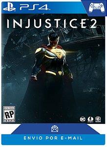 Injustice 2 Ps4 Código Psn 12 dígitos