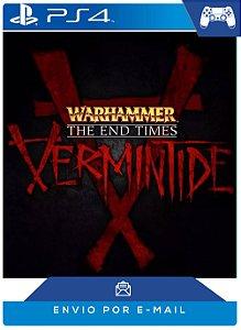 Warhammer End Times Vermintide Ps4 Código Psn
