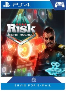 Risk® Urban Assault Ps4 Código Psn 12 Dígitos