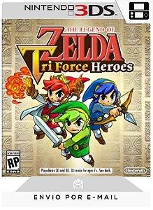 3DS - THE LEGEND OF ZELDA: TRI FORCE HEROES - DIGITAL CÓDIGO 16 DÍGITOS AMERICANO