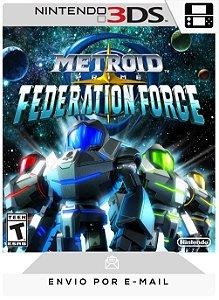 3DS - METROID PRIME: FEDERATION FORCE - DIGITAL CÓDIGO 16 DÍGITOS AMERICANO
