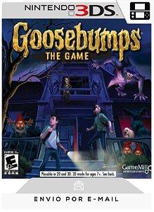 3DS - GOOSEBUMPS: THE GAME - DIGITAL CÓDIGO 16 DÍGITOS AMERICANO