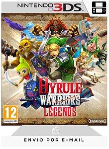 3DS - HYRULE WARRIORS LEGENDS - DIGITAL CÓDIGO 16 DÍGITOS AMERICANO
