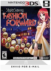 3DS - STYLE SAVVY: FASHION FORWARD - DIGITAL CÓDIGO 16 DÍGITOS AMERICANO
