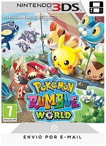 3DS - POKÉMON RUMBLE WORLD - DIGITAL CÓDIGO 16 DÍGITOS AMERICANO