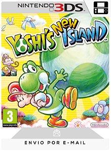 3DS - YOSHI'S NEW ISLAND - DIGITAL CÓDIGO 16 DÍGITOS AMERICANO