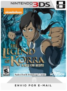 3DS - THE LEGEND OF KORRA A NEW ERA BEGINS - DIGITAL CÓDIGO 16 DÍGITOS AMERICANO