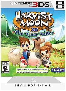 3DS - HARVEST MOON: THE LOST VALLEY - DIGITAL CÓDIGO 16 DÍGITOS AMERICANO