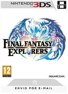 3DS - FINAL FANTASY EXPLORERS - DIGITAL CÓDIGO 16 DÍGITOS AMERICANO