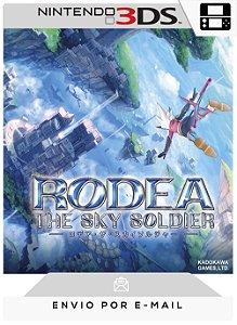 3DS - RODEA THE SKY SOLDIER - DIGITAL CÓDIGO 16 DÍGITOS AMERICANO