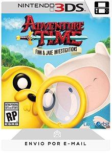 3DS - ADVENTURE TIME: FINN & JAKE INVESTIGATIONS - DIGITAL CÓDIGO 16 DÍGITOS AMERICANO