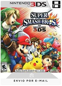 3DS - SUPER SMASH BROS. - DIGITAL CÓDIGO 16 DÍGITOS AMERICANO