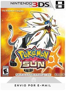 3DS - POKÉMON SUN - DIGITAL CÓDIGO 16 DÍGITOS AMERICANO