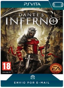 PS VITA - DANTE'S INFERNO - DIGITAL CÓDIGO 12 DÍGITOS AMERICANO