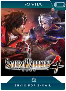 PS VITA - SAMURAI WARRIORS 4 - DIGITAL CÓDIGO 12 DÍGITOS AMERICANO
