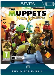 PS VITA - THE MUPPETS MOVIE ADVENTURES - DIGITAL CÓDIGO 12 DÍGITOS AMERICANO