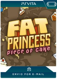 PS VITA - FAT PRINCESS: PIECE OF CAKE - DIGITAL CÓDIGO 12 DÍGITOS AMERICANO