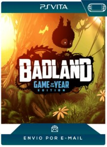 PS VITA - BADLAND: GAME OF THE YEAR EDITION - DIGITAL CÓDIGO 12 DÍGITOS AMERICANO