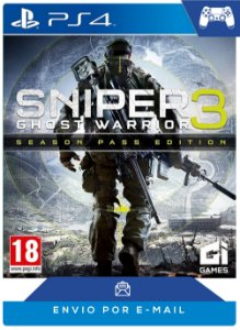 Sniper Ghost Warrior 3 Season Pass Edition PS4 código PSN