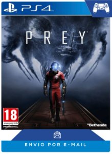 Prey PS4 código PSN 12 dígitos