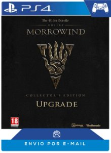 The Elder Scrolls Online: Morrowind Collector's Ed. Upgrade Código psn 12 dígitos