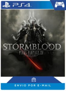 FINAL FANTASY XIV: Stormblood PS4 código psn 12 dígitos