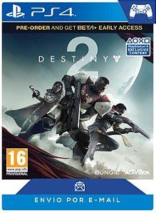 Destiny 2 Ps4 Código Psn 12 Dígitos