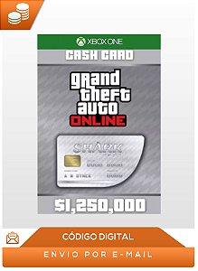 Gta Online Great White Shark Cash Card 1,250 Xbox One Key