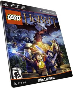 LEGO The Hobbit PS3 PSN MÍDIA DIGITAL