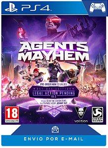 Agents of Mayhem PS4 Código PSN 12 Dígitos
