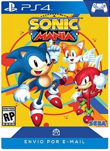 Sonic Mania PS4 código Psn 12 Dígitos