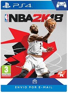 NBA 2K18 PS4 Código PSN 12 Dígitos