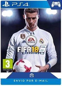 FIFA 18 Standard Edition PS4 Código PSN 12 Dígitos