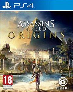 Assassin's Creed Origins PS4 Código PSN 12 Dígitos