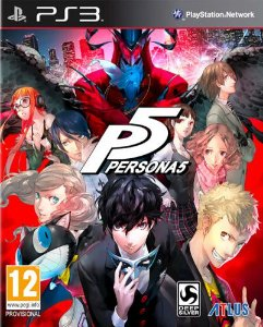 Persona 5 PS3 Mídia Digital