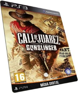 Call of Juarez Gunslinger PS3 PSN MÍDIA DIGITAL