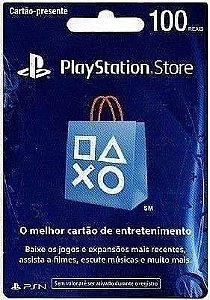 Cartão PSN R$100 Brasil