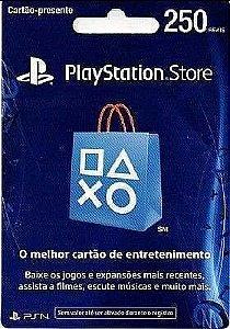 Cartão PSN R$250 Brasil