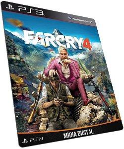 Farcry 4 Far Cry IV PS3 PSN MÍDIA DIGITAL