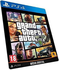 Grand Theft Auto V GTA 5 PS4 PSN MÍDIA DIGITAL
