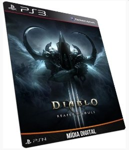 Diablo III Reaper of Souls Ultimate Evil Edition PS3 PSN MÍDIA DIGITAL