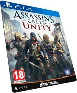 Assassins Creed Unity PS4 PSN MÍDIA DIGITAL