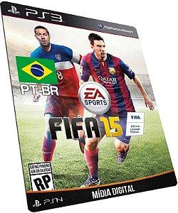 Fifa 15 PT-BR PS3 PSN MÍDIA DIGITAL