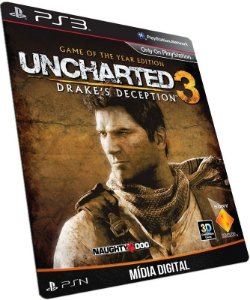UNCHARTED 3 Drake's Deception Game of The Year Digital Edition para PS3 - MÍDIA DIGITAL