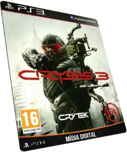 Crysis 3 PS3 PSN MÍDIA DIGITAL