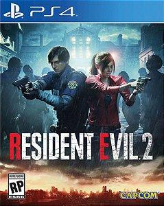 Resident evil 2 Remake PS4 PSN Mídia Digital