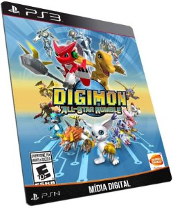 Digimon All-Star Rumble PS3 PSN MÍDIA DIGITAL