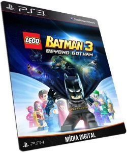 LEGO Batman 3 Beyond Gotham PS3 PSN MÍDIA DIGITAL